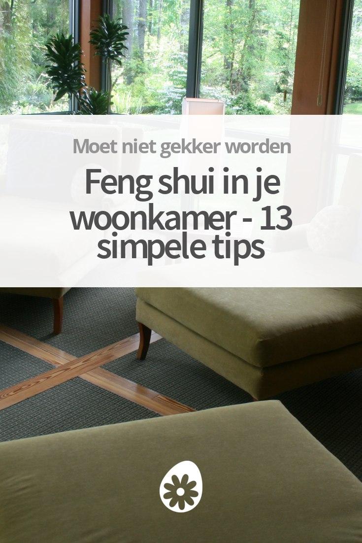 Feng shui in je woonkamer - 14 feng shui tips
