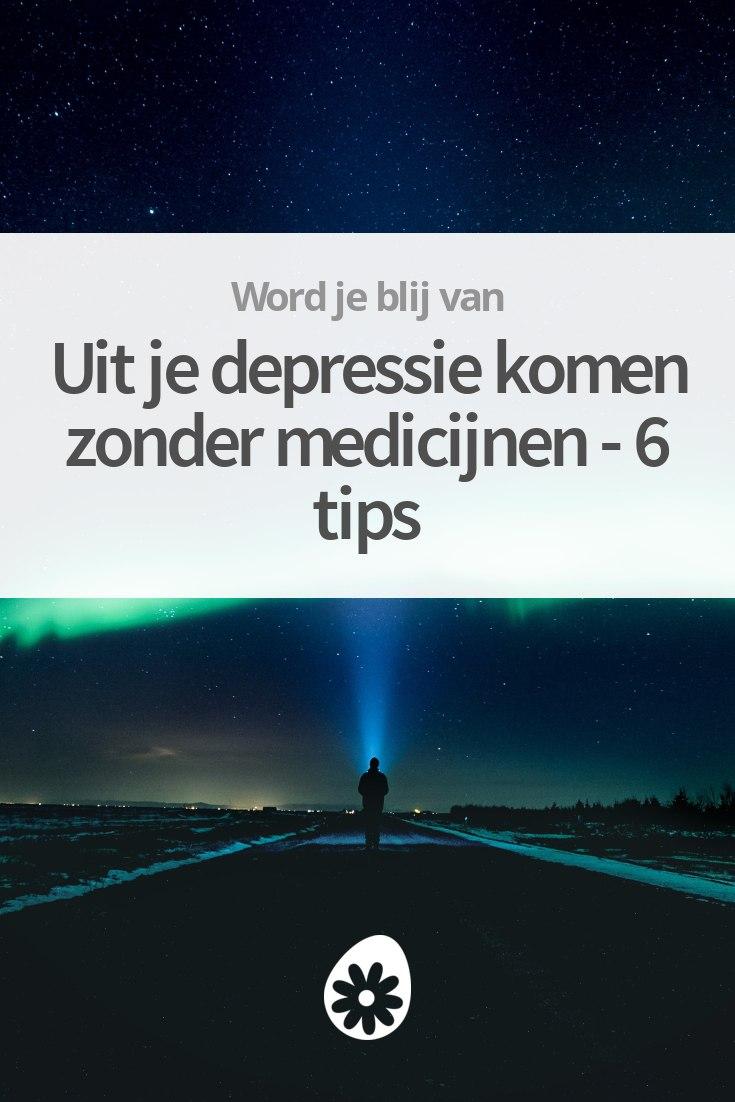 depressie zelf behandelen