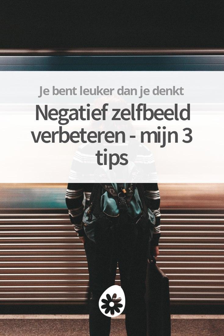 Hedendaags Negatief zelfbeeld verbeteren - mijn 3 tips   soChicken HA-57