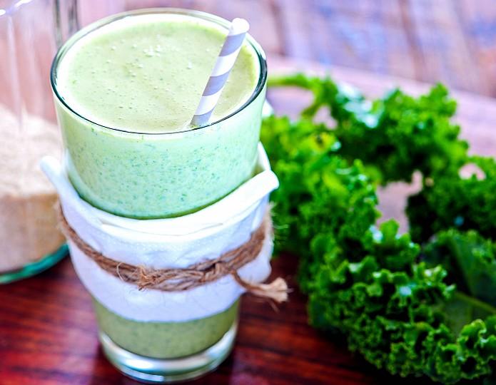 Groene smoothies - eenvoudig veel groente eten