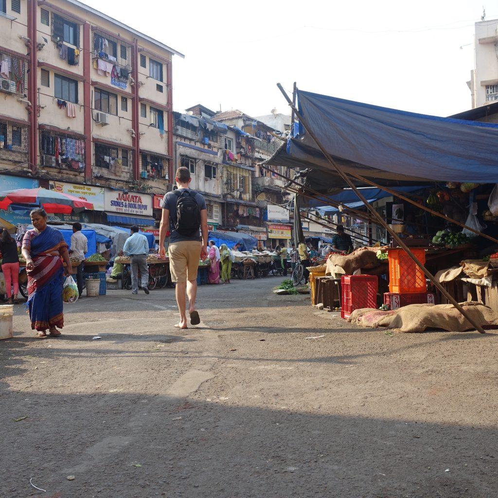 Markt in India