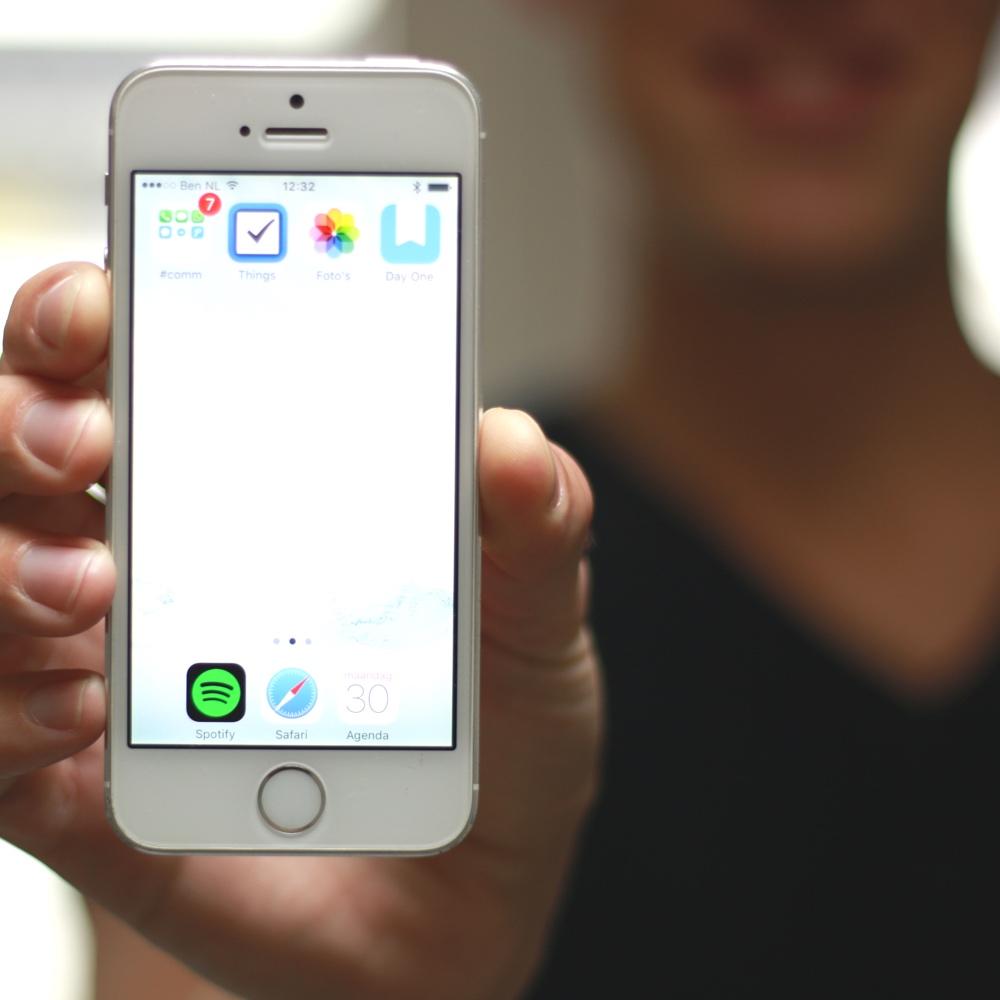 Minimalistisch scherm