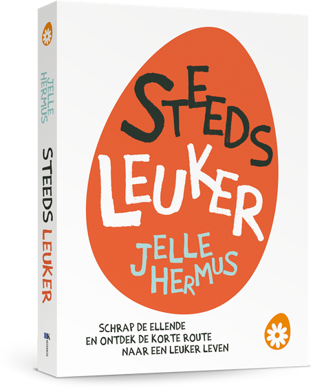 Steeds leuker - het soChicken boek door Jelle Hermus