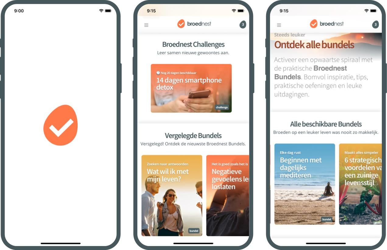 De Broednest app