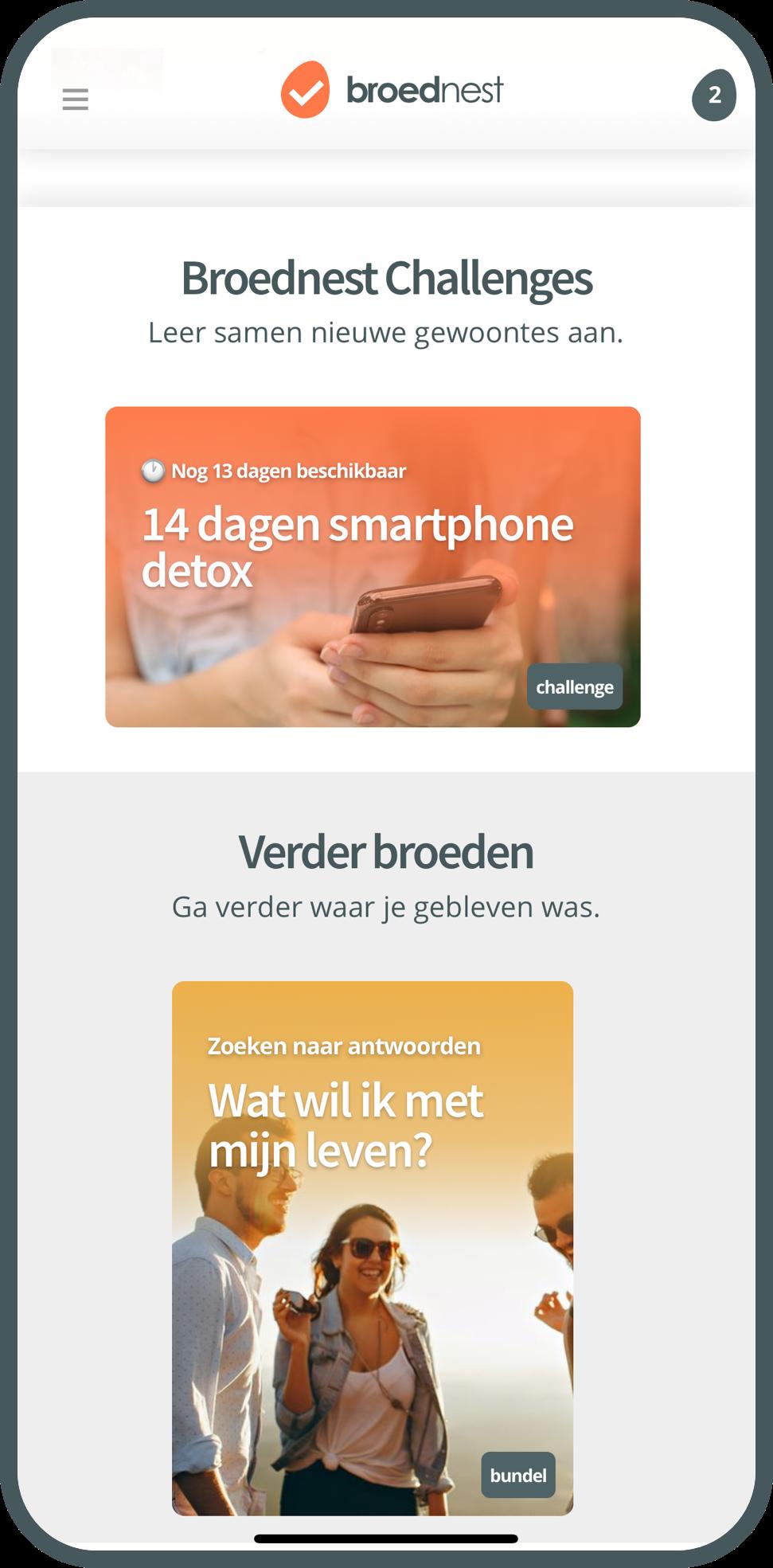 Broednest app preview